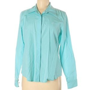 Lilly Pulitzer Sky Blue Button Up